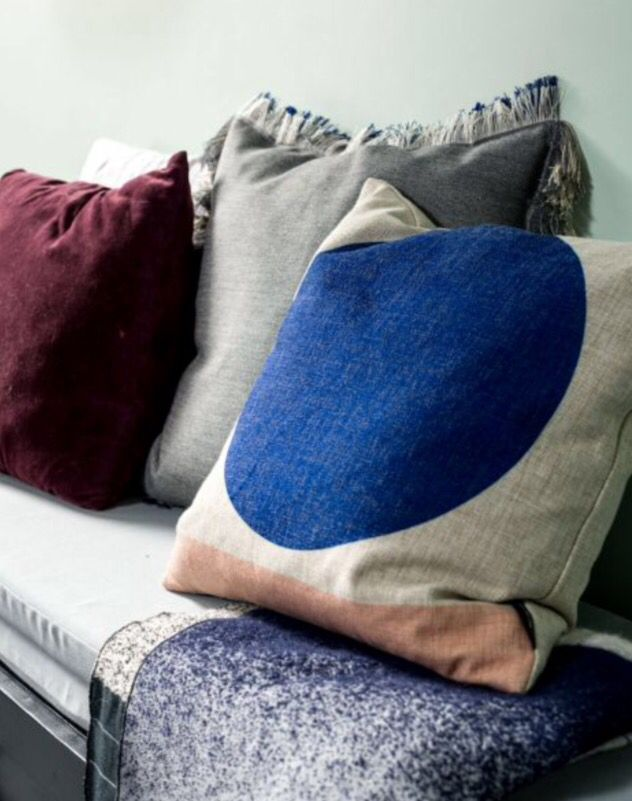 "These pillows are from our feature ""Colour Codes"""