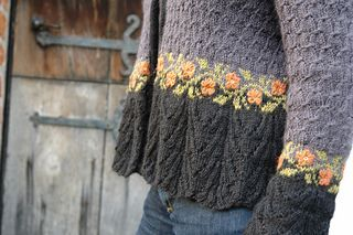 One of my favorite patterns and yarns. Thought it would be complicated due to the lace and textures stitches, but it is really uncomplicated fast and easy. The fit is perfect as there is a lot of s...