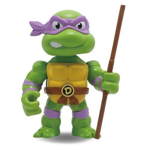 TMNT Donatello 4-Inch Metals Die-Cast Action Figure - Jada Toys - Teenage Mutant Ninja Turtles - Action Figures at Entertainment Earth