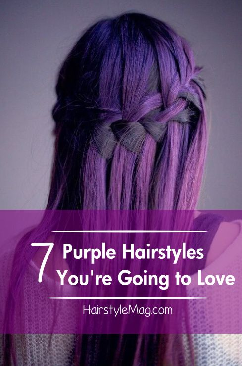 7 Purple Hairstyles You Re Going To Love Hairstyles For