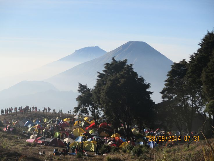 Prau Mountain 2565 Mdpl - Dieng Wonosobo, Indonesia