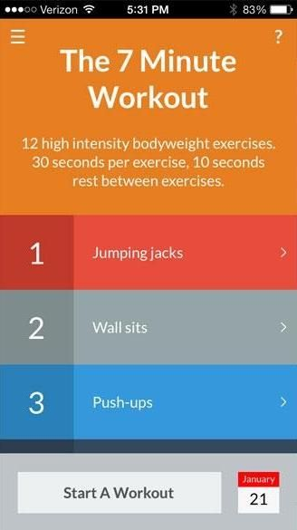the 7 minute workout: fast but no walk in the park #exercise