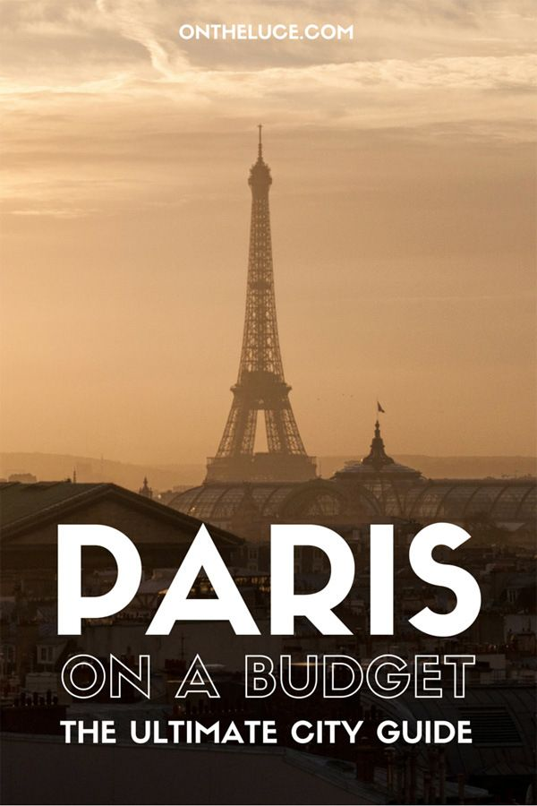 Paris on a budget – On the Luce