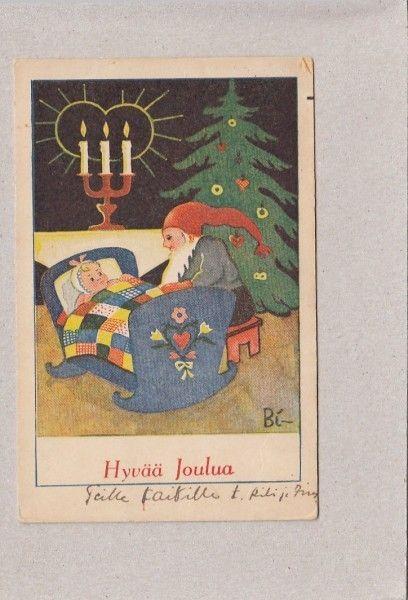 Bi - Meisje in de wieg onder het dekbed - quilt - Huuto.net