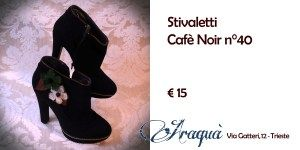 Stivaletti Cafè Noir n°40 € 15