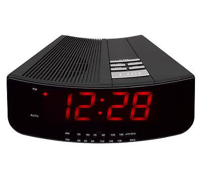 Logik #lcran12 analogue alarm #clock #radio - black,  View more on the LINK: http://www.zeppy.io/product/gb/2/321937579246/