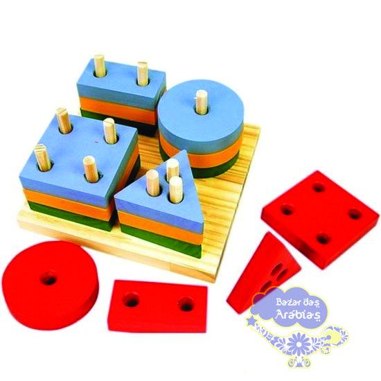 Prancha de Seleção, Prancha de Seleção GR Brinquedos, GR Brinquedos, Brinquedos Educativos, Brinquedos de Madeira, formas Geométricas de Madeira, triângulo