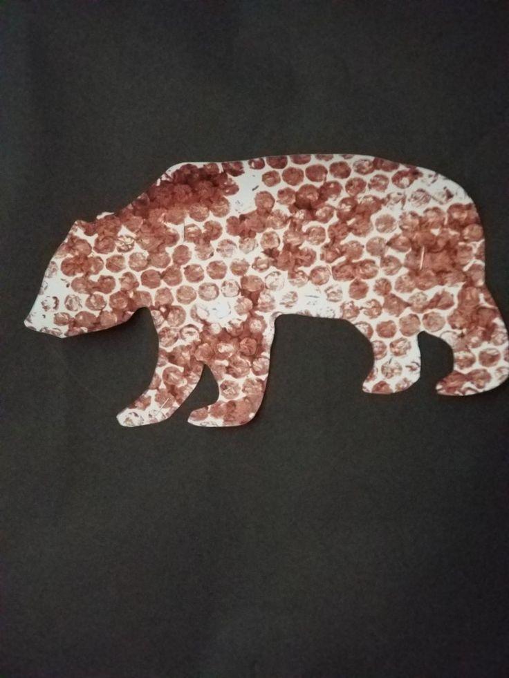Brown bear in 2020 primary books preschool crafts book