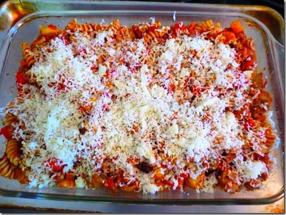 simply filling baked turkey ziti