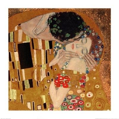 Gustav Klimt- The Kiss (1907-08)