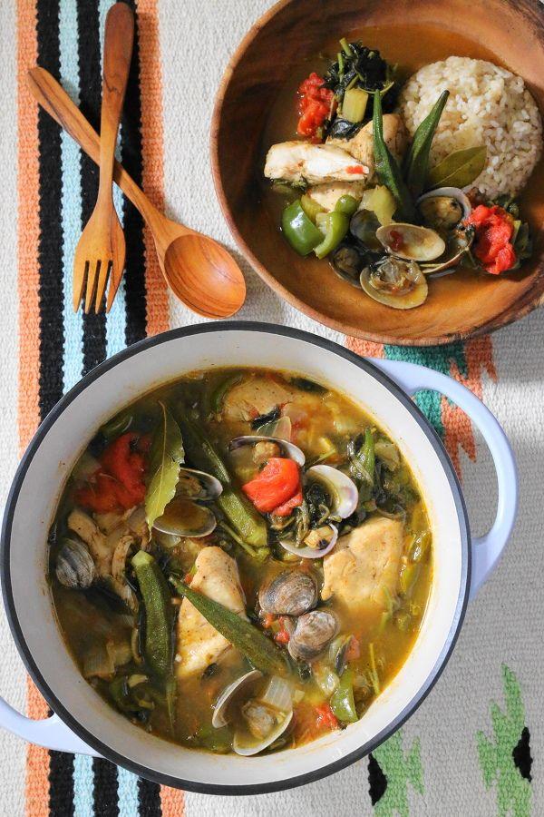 チキンとアサリのガンボスープ by 前澤 泰爾 | レシピサイト「Nadia ...