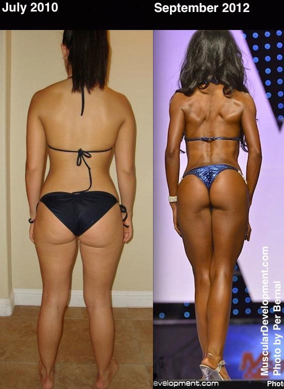 bikini competition weight loss
