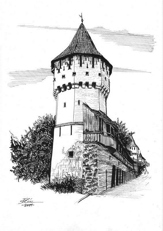 Image Result For Tower Drawings Architecture Drawing Tower