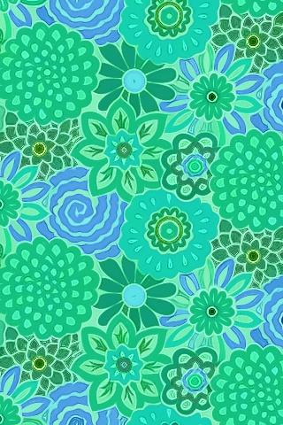 Cool Blue -- iPhone wallpaper.