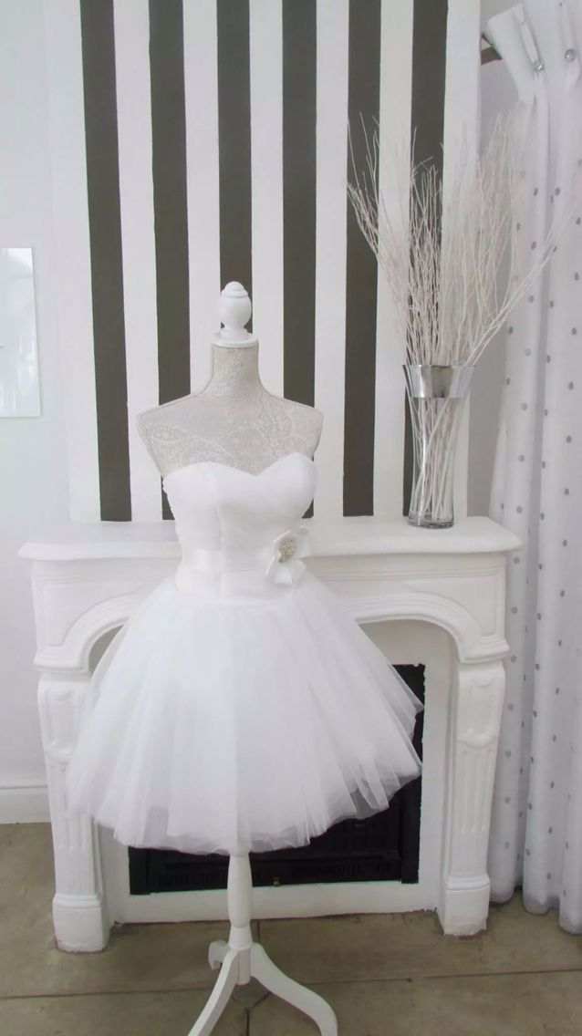 How about a short dress for that beach wedding or just something different!