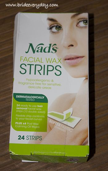 Nads facial wax strips are used to remove hair from face, upper lips and chin. A pack contains 24 double sided wax strips along with 4 post wax oily wipes. Check out the below link for more details: http://www.brideeveryday.com/nads-facial-wax-strips-review