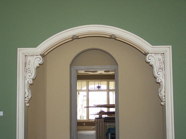 Doorway with corbels