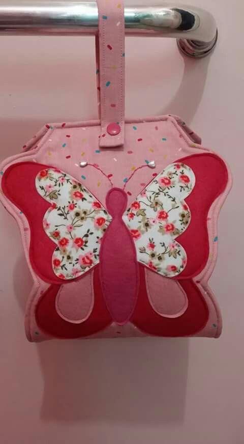 Porta papel higiênico  borboleta
