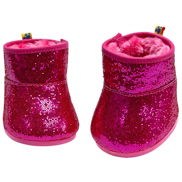 Fuchsia Sequin Boots - Build-A-Bear Workshop US