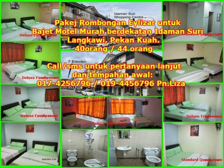 Eylizar Homestay Murah Di Kuah Langkawi Pakej Rombongan Budget Motel Dan Hotel