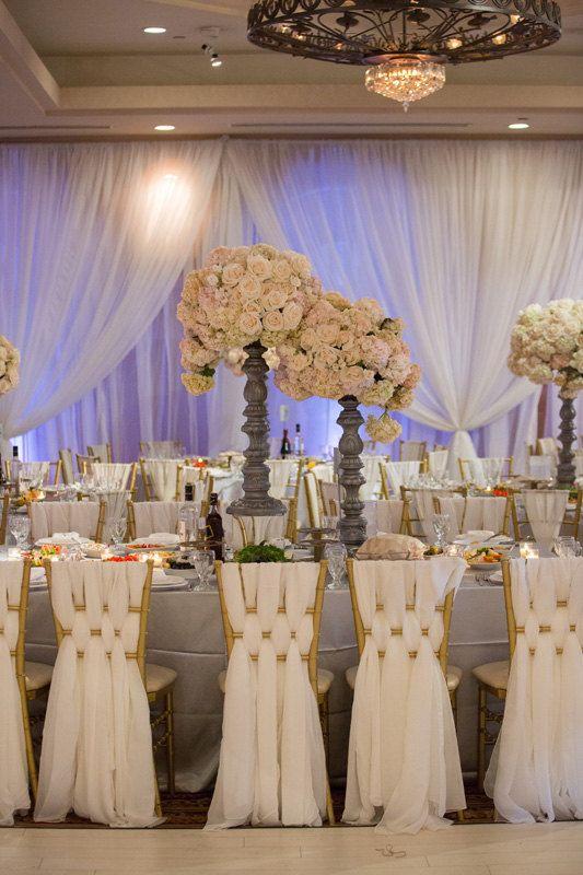 Chiffon Chiavari Chair Sash  Wedding Chair Sashes by GOLinen