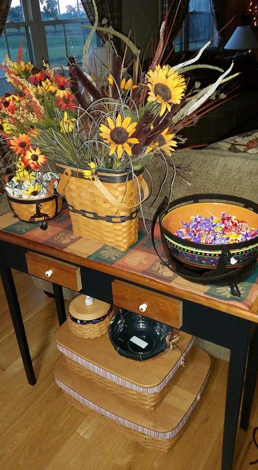 2107 Best Longaberger Baskets Pottery Images On Pinterest