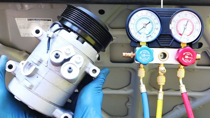 How to Replace an AC Compressor in your Car YouTube