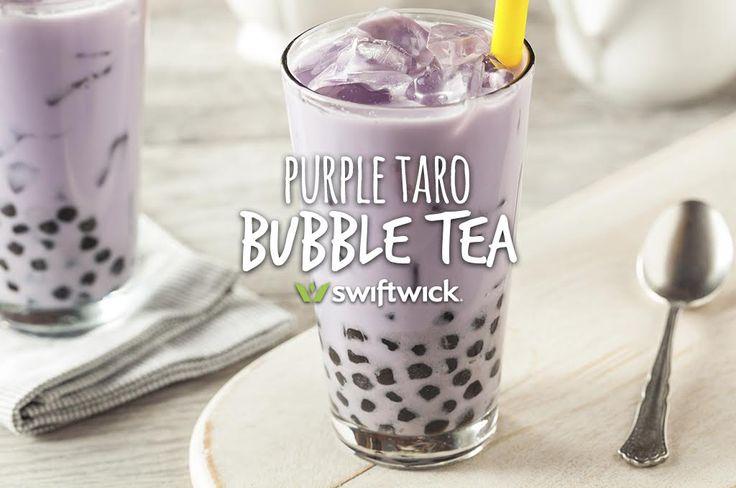 Deeply delicious purple taro bubble tea - Swiftwick