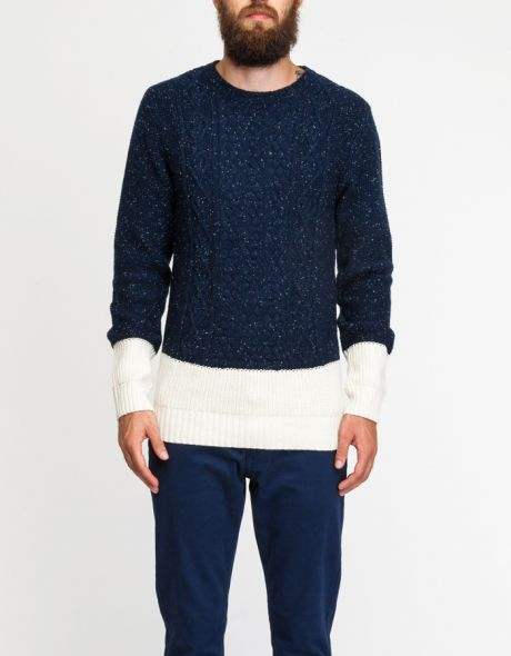 Native Youth Flek Cable Sweater