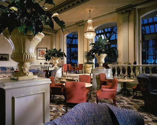 Zoe's Lounge, for afternoon tea at the Fairmont Chateau Laurier, Ottawa, Ontario