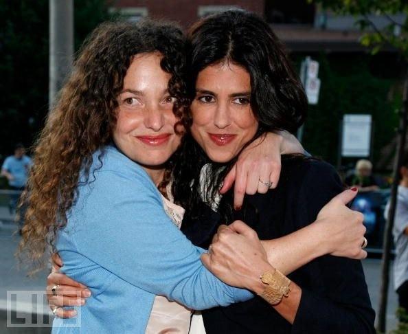 Francesca Gregorini and Tatiana