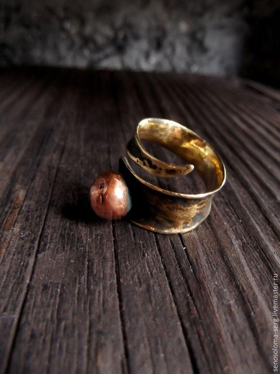 """Купить Кольцо """"Глаз Гора"""" - спираль, Глаз Гора, кольцо спираль, разъемное кольцо"""
