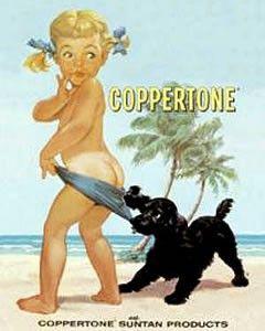 classic coppertone ad