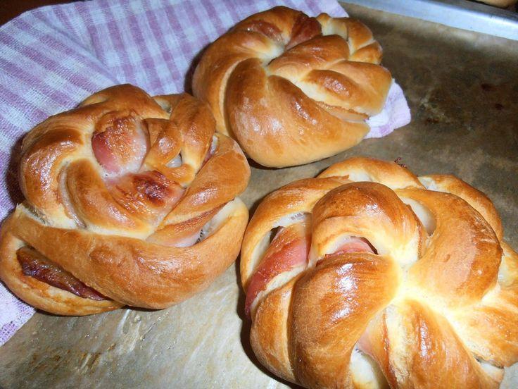 Gerdi süti: Baconos turbánok