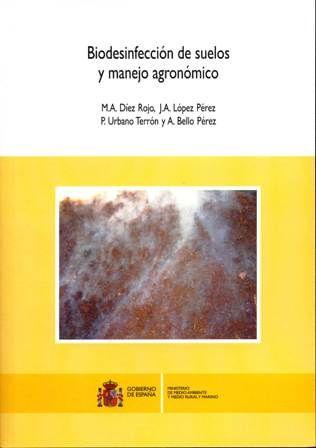 BIODESINFECCIÓN DE SUELOS Y MANEJO AGRONÓMICO. Díez Rojo, M. A. Documento divulgativo sobre la biodesinfección de suelos, en el que se analiza la materia orgánica -especialmente la procedente de coproductos de origen agrario- como desinfectante de suelos agrícolas. Asimismo, se describen diferentes experiencias en cinco comunidades autónomas. Disponible en http://roble.unizar.es/record=b1664900~S4*spi