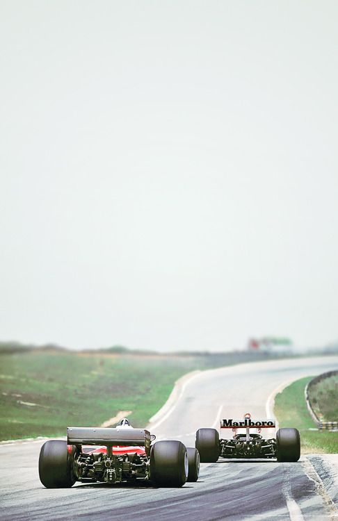 Carlos Reutemann and James Hunt