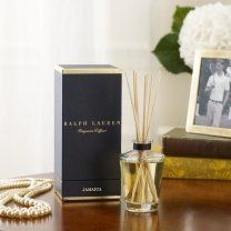 RALPH LAUREN HOME Diffuser Collection by Ralph Lauren. $60.00. Offered in a variety of fragrant scents, our elegant diffuser includes seven wooden reed diffuser sticks exquisitely presented in our signature navy box. 2.7 fl. oz. Made in the USA. Pied-A-Terre diffuser is scented with a fragrant blend of French tuberose, jasmine, geranium and orange flower. Duchess diffuser is scented with a fragrant blend of Egyptian jasmine, lily-of-the-valley and amber. Upper Fifth...
