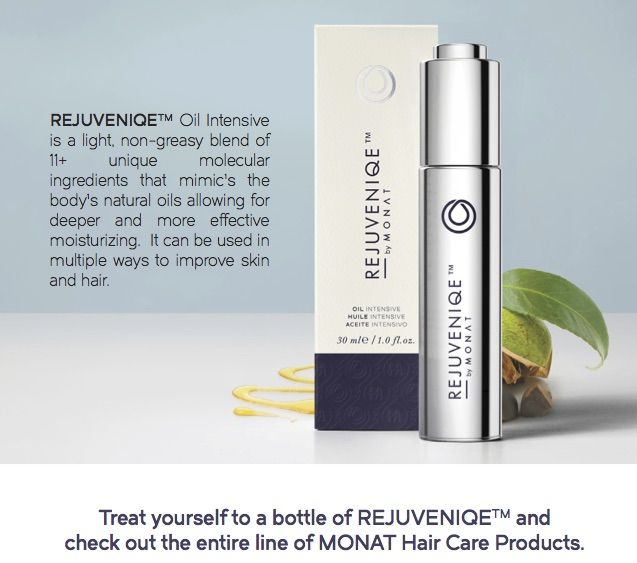 I use MONAT Rejuvenique Oil after every wash. My hair has ...