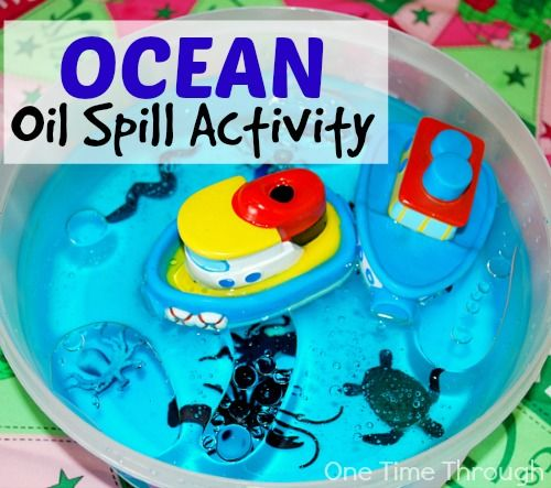 "This ""Protect Our Oceans Oil Spill Activity"" is a really fun, hands-on activity that teaches kids about the negative effects of oil spills on our oceans."