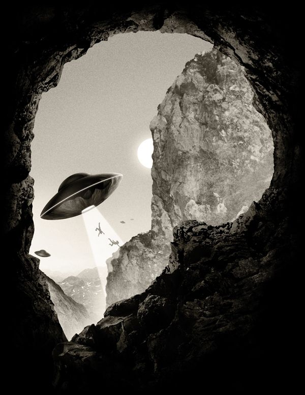 Alien´s Head by Javier Ramos, via Behance