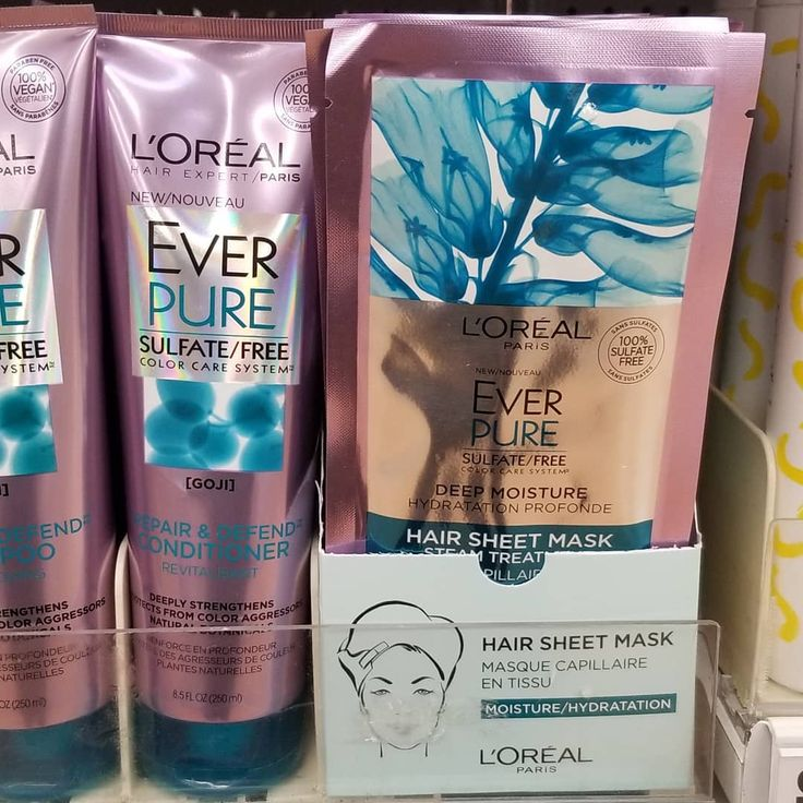So excited about L'Oreal's NEW Deep Moisture Hair Sheet