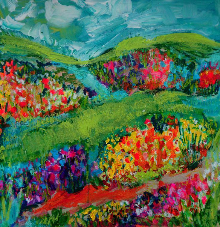 floral by Elizabeth Sargeant artist
