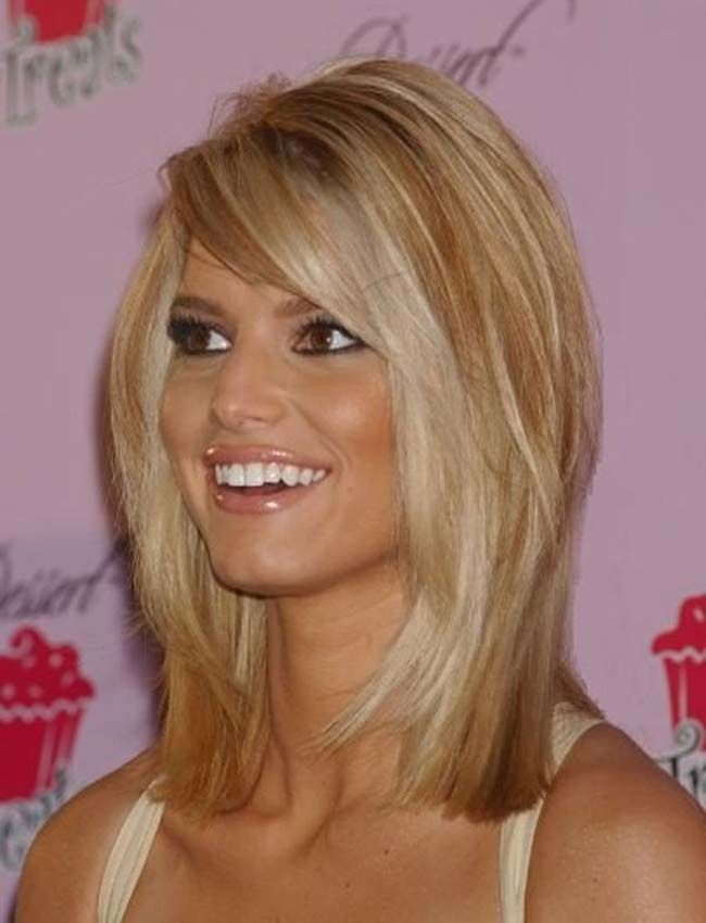 Jessica Simpson Hairstyles 2015