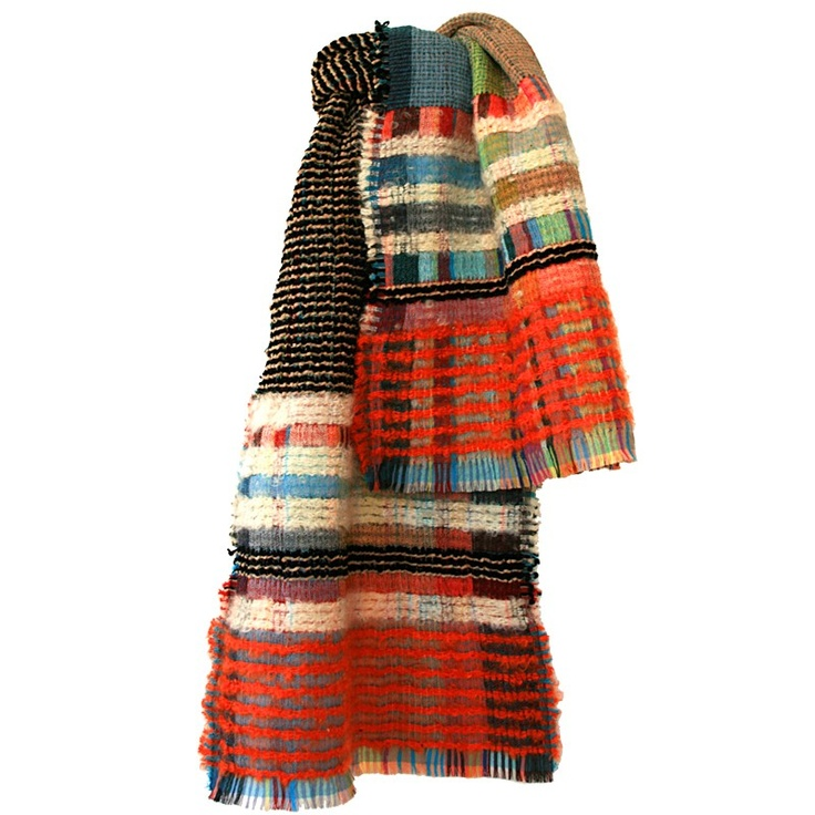 Like the idea of recycling old sweaters... into a scarf
