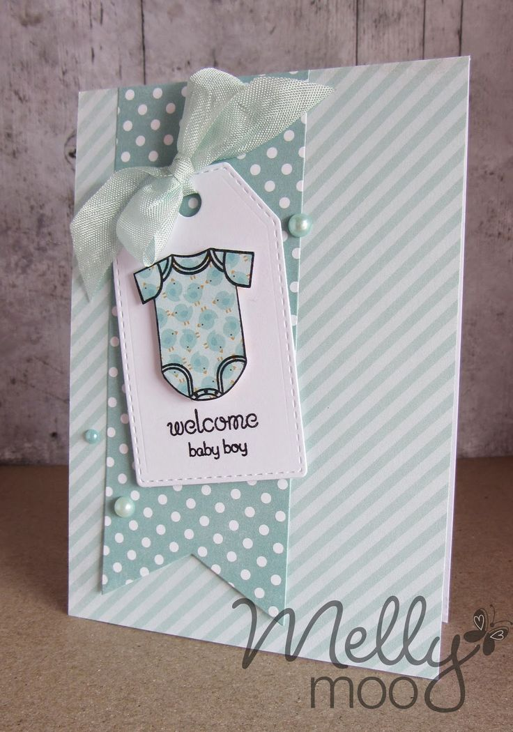 Mellymoo papercrafting: Baby boy- craft mojo DT