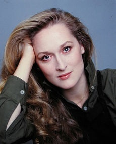 Meryl Streep; her filmography section requires an expansion!