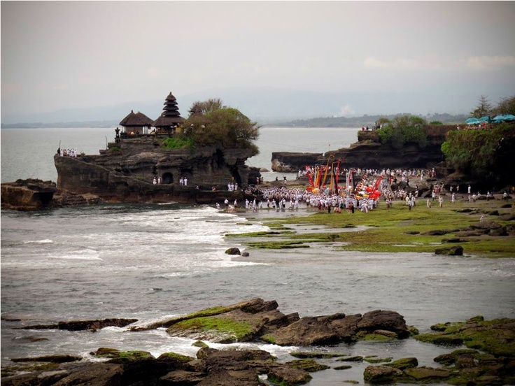 Temple Festival at Tanah Lot | Bali, Indonesia