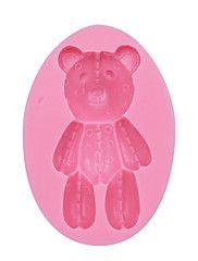 Bear+Silicone+Mold+Fondant+Cake+Decoration+Mold+Silicone+Cupcake+Mould+Fondant+Decoration+Tool+SM-053+–+USD+$+5.99