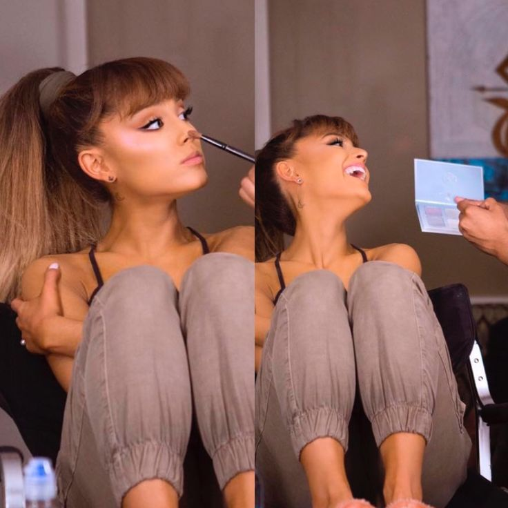 Ariana Grande wears Anastasia Beverly Hills 'Moonchild' highlighter