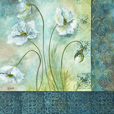 White Poppy Garden II